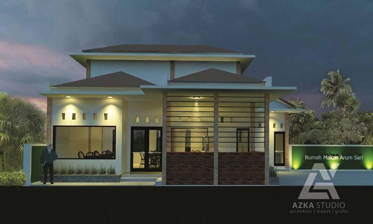 eksterior:  Restoran by Azka Studio
