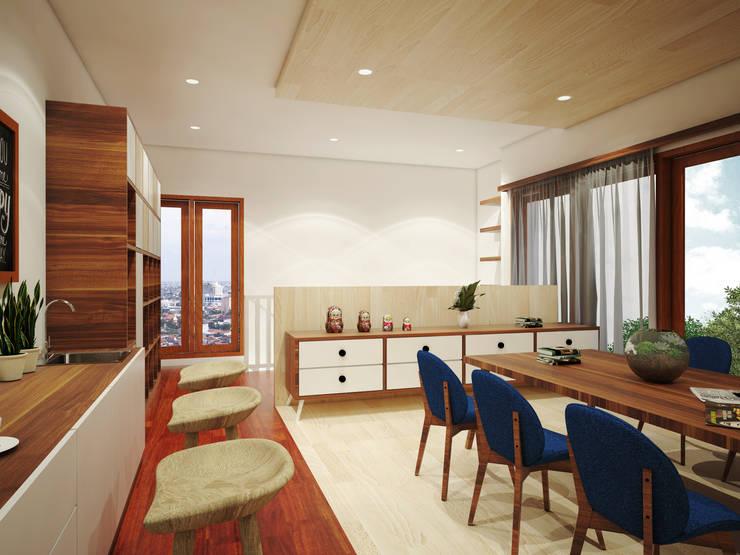 Jasko Office Renvation:  Kantor & toko by SEKALA Studio