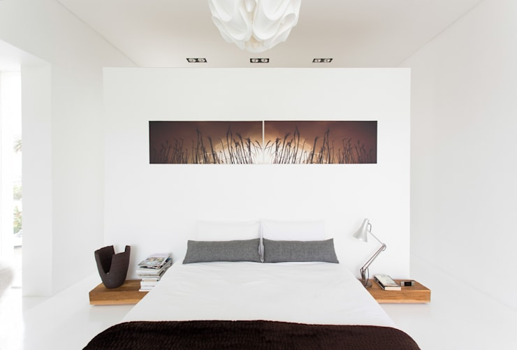 Bedroom by Grobler Architects