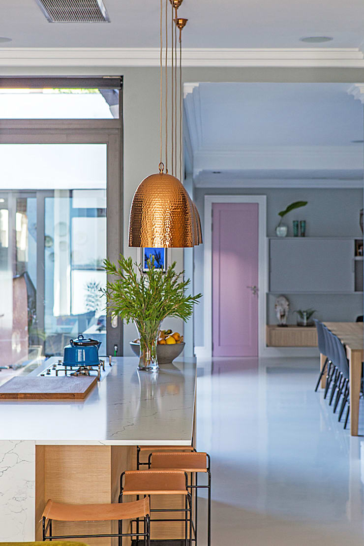 ALTERATION FRESNAYE, CAPE TOWN:  Kitchen by Grobler Architects