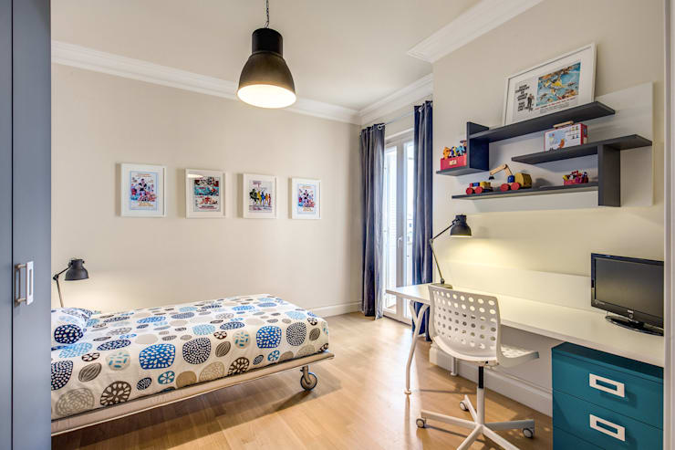 Детские комнаты в . Автор – Studio Guerra Sas