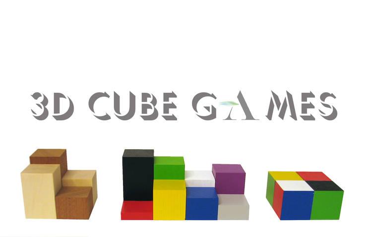 3D CUBE GAMES: modern  von Architekturbüro Michael Bidner,Modern