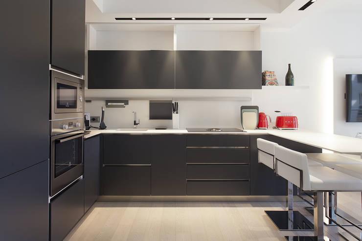 modern Kitchen by Silvana Barbato, StudioAtelier