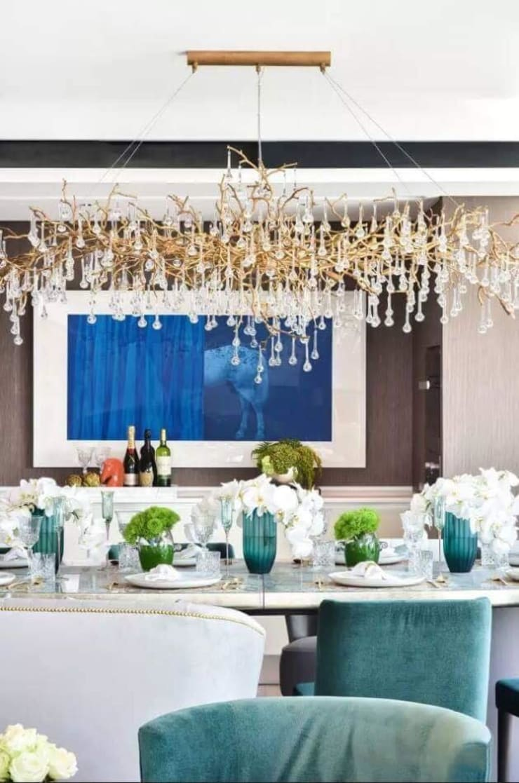 Serip Bijout Collection: modern Dining room by S. T. Unicom Pvt. Ltd.