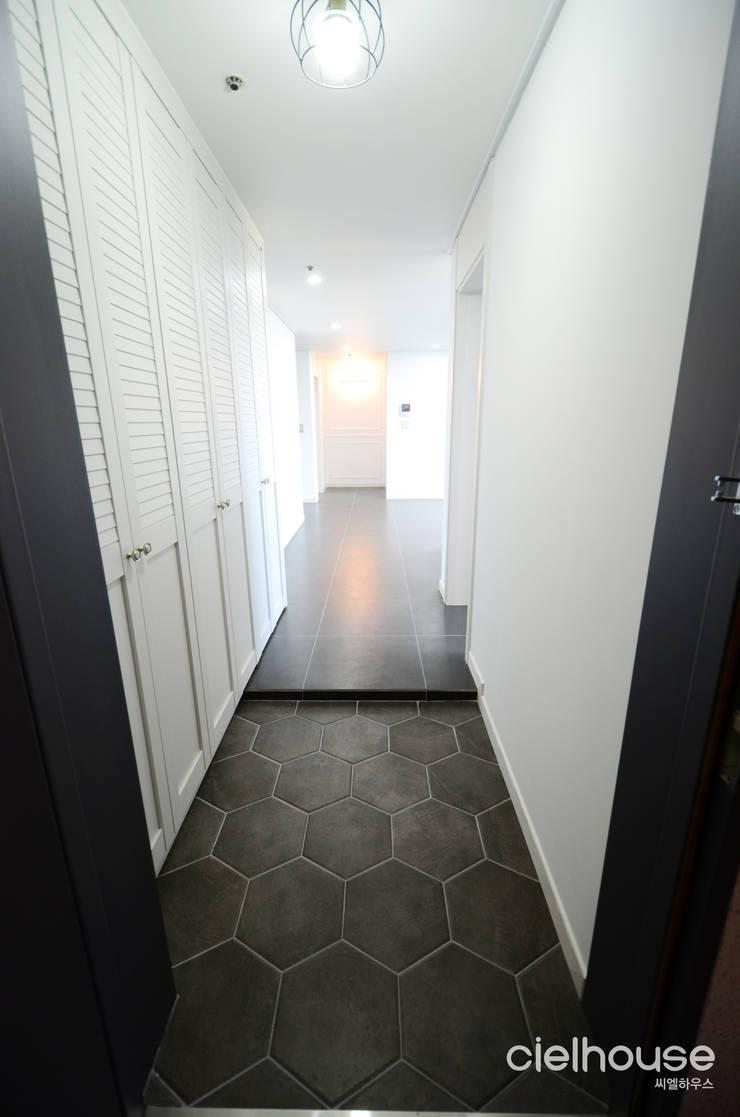 심플 엣지의 미니멀한 인테리어 - 전주시 효자동 대림아파트 인테리어: 씨엘하우스의