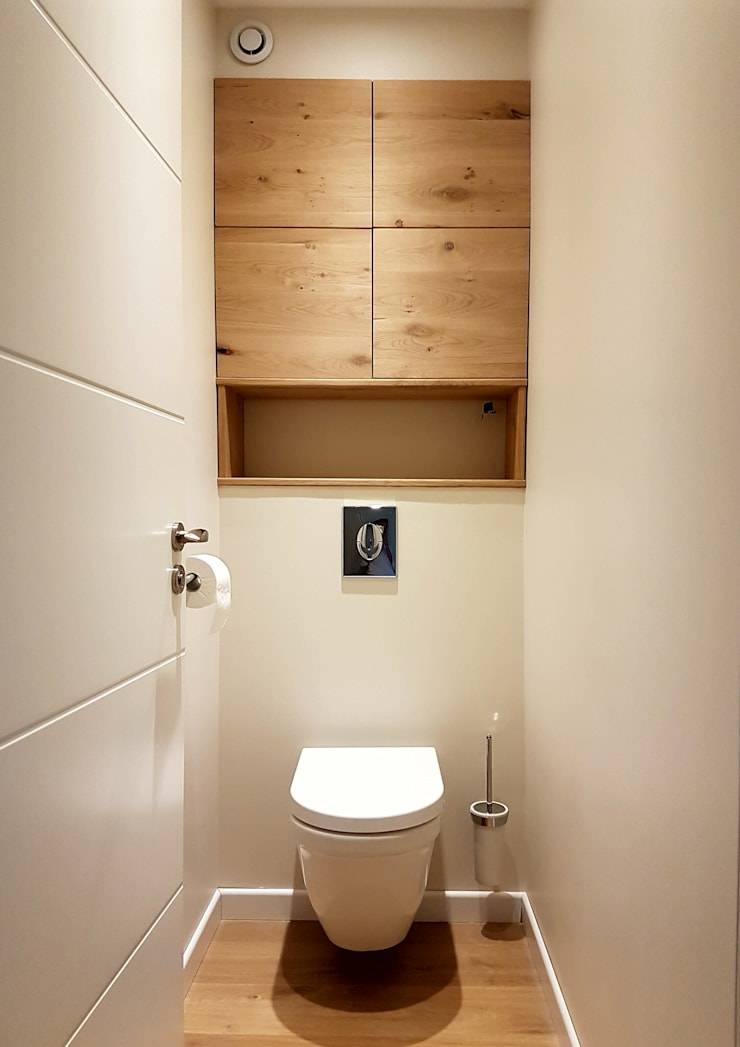Bathroom by MadaM Architecture, Industrial