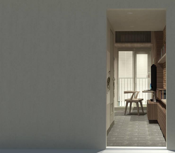 Show Unit - Type A (18 m2) - Entrance:  Kamar Tidur by studio tektonik