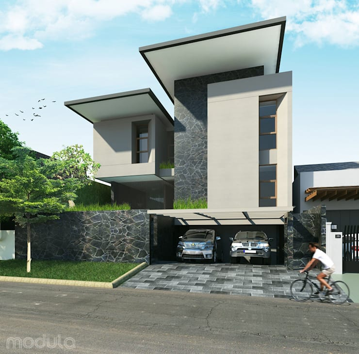 -:  Rumah tinggal  by MODULA
