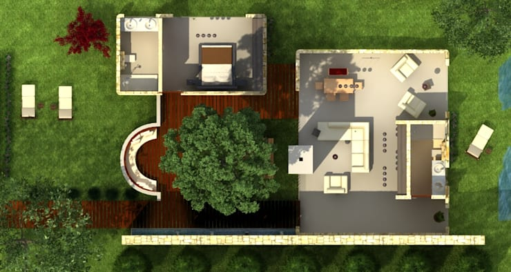 Zeus Tasarım Ltd. Şti. – Ayrık Ev:  tarz