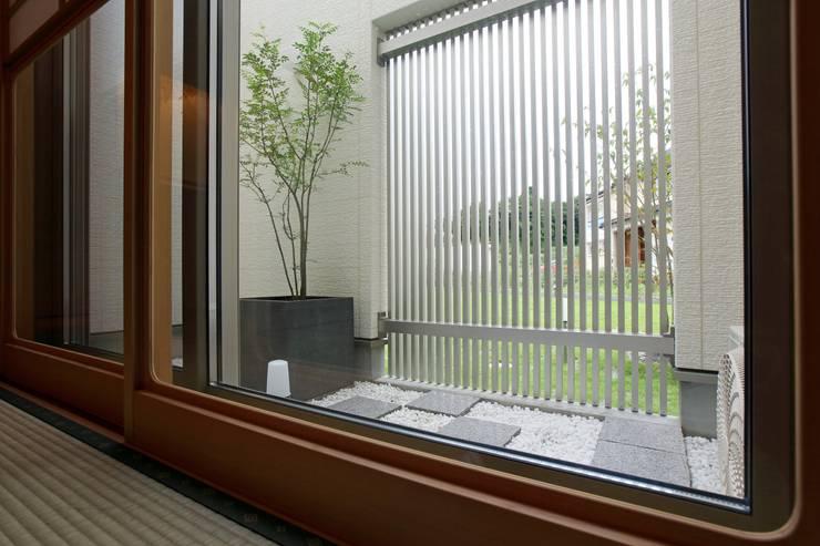 Zen garden by やまぐち建築設計室