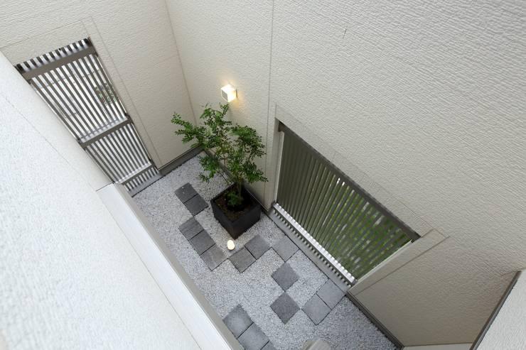 Projekty,  Ogród zen zaprojektowane przez やまぐち建築設計室