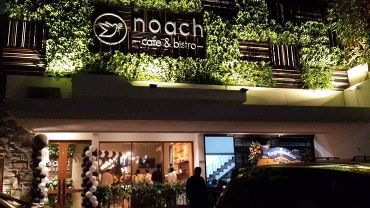 The facade:  Restoran by Kottagaris interior design consultant