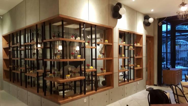 Outside of Vip room :  Restoran by Kottagaris interior design consultant