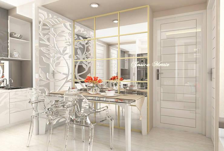 Apartment Surabaya:   by JM Interior Design
