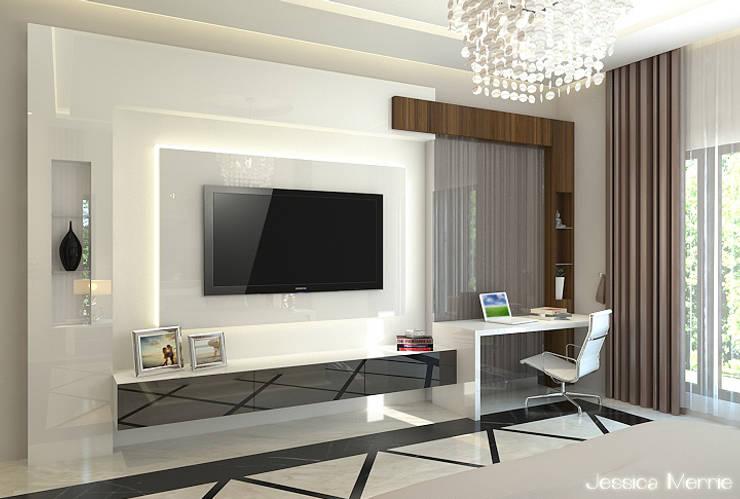 Residential Batam:   by JM Interior Design