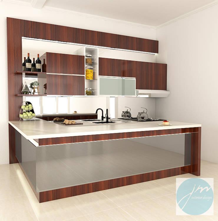Pantry Mr. stephen Sidoarjo:   by JM Interior Design