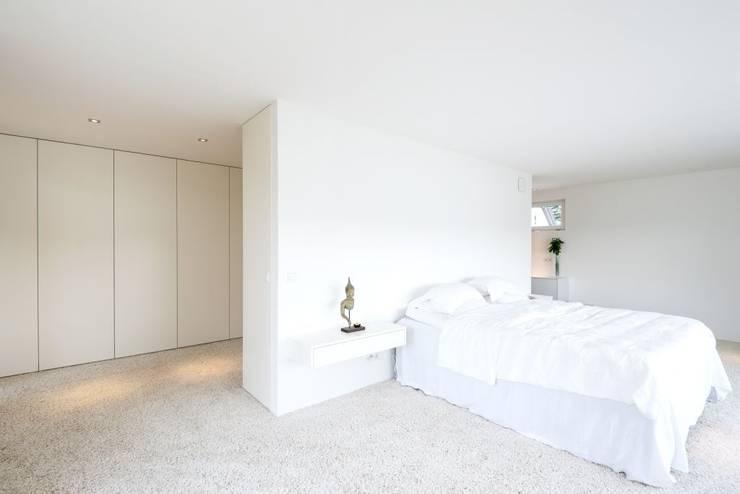 Projekty,  Sypialnia zaprojektowane przez wir leben haus