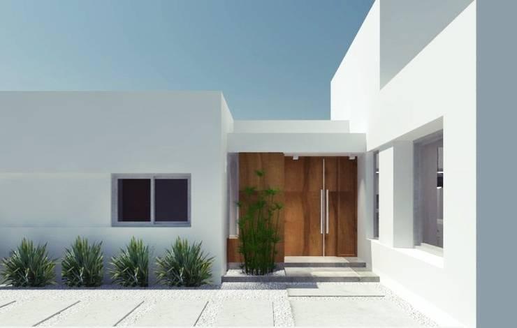 Casa MZ –  Junin – Bs. As.: Casas unifamiliares de estilo  por SBG Estudio ,