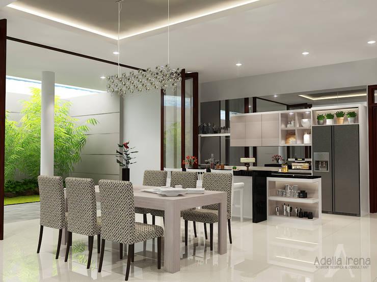 Ruang Makan:  Ruang Makan by AIRE INTERIOR