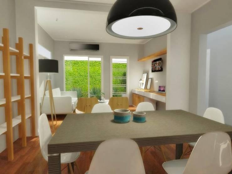 PH 8 – La Plata – Bs. As.: Casas unifamiliares de estilo  por SBG Estudio ,Moderno
