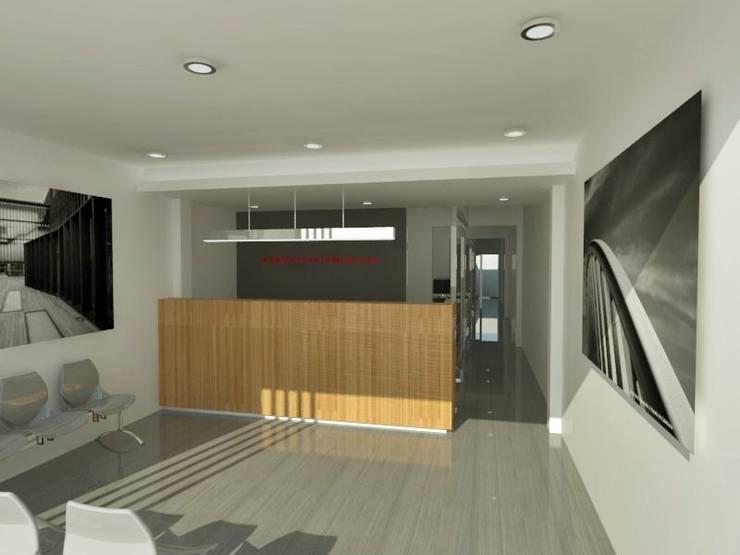 Oficina Comercial - La Plata - Bs. As.: Oficinas y Tiendas de estilo  por SBG Estudio