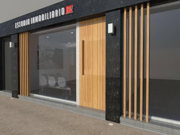 Oficina Comercial – La Plata – Bs. As.: Oficinas y Tiendas de estilo  por SBG Estudio
