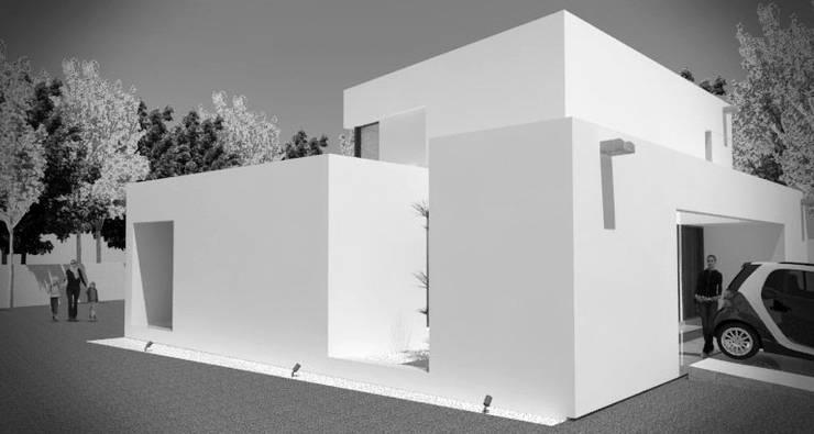 ★CASA PP – VILLA DEL PLATA – LA PLATA★ (En Obra): Casas unifamiliares de estilo  por SBG Estudio ,