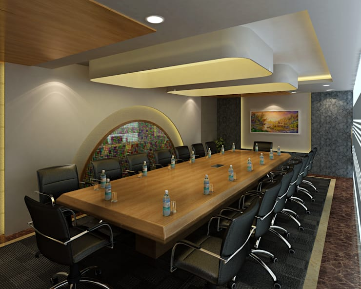 Hotel—Restaurant, Banquet and Convention Center:  Conference Centres by Srijan Homes
