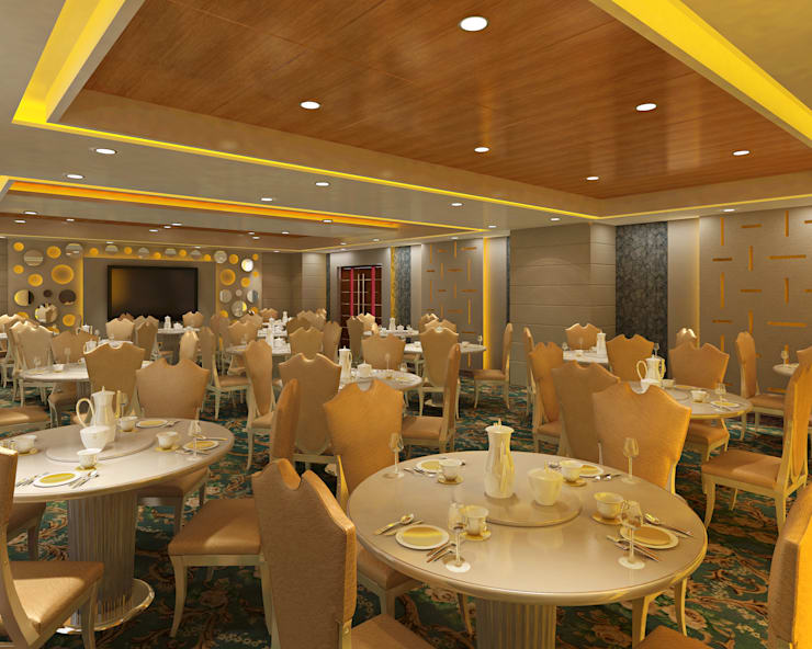 Hotel—Restaurant, Banquet and Convention Center:  Hotels by Srijan Homes