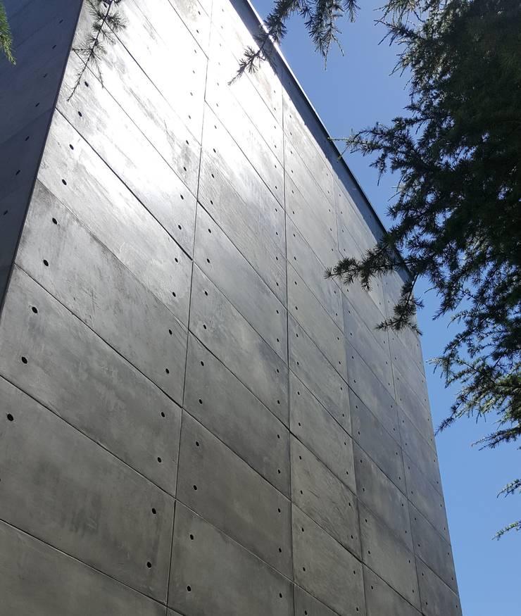 Concrete Beton Exterior Facade Cladding Panel with CRETOX :  Shopping Centres by NETEREN | Decorative Wall Panels