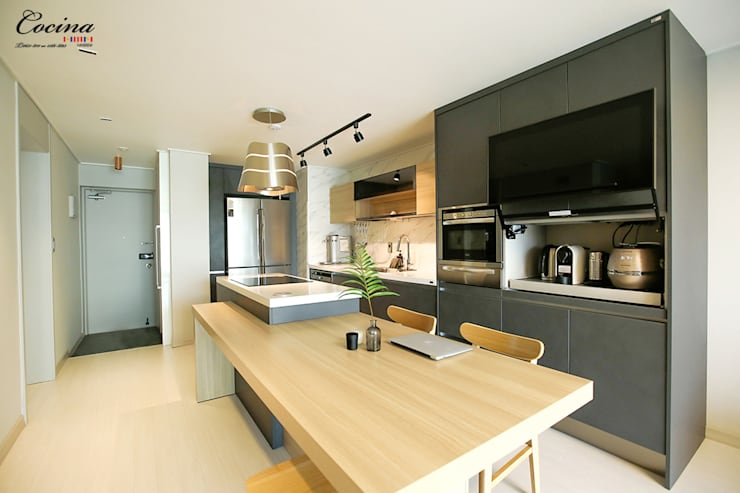Kitchen by cocina