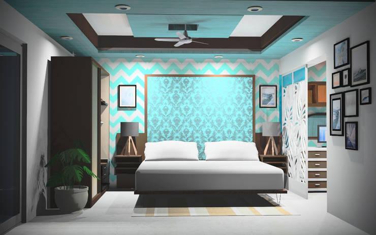 Interior - Exclusive:  Bedroom by M/s GENESIS
