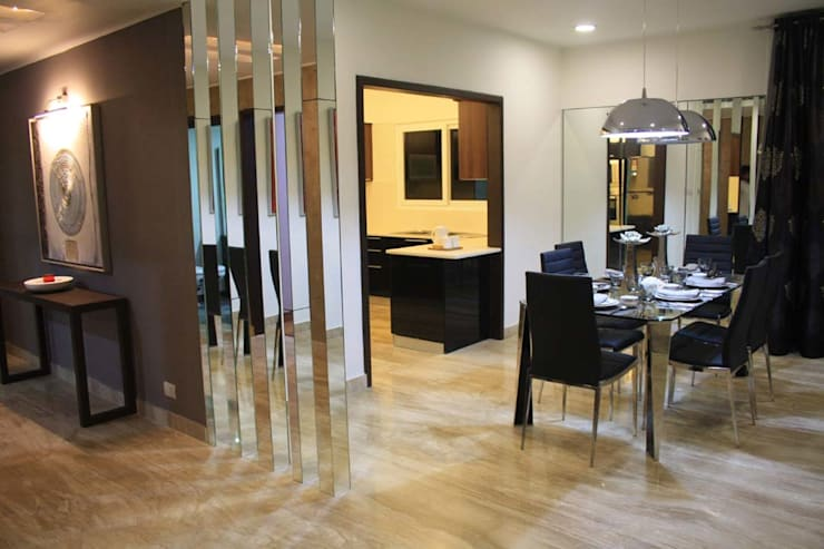 Interior—Exclusive:  Dining room by M/s GENESIS