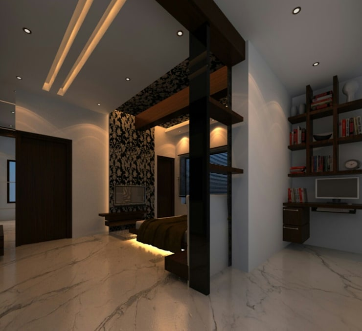 Interior—Exclusive:  Corridor & hallway by M/s GENESIS