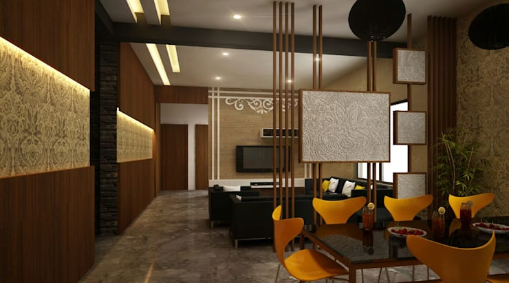 Interior—Exclusive:  Living room by M/s GENESIS