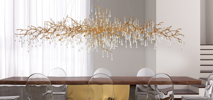 Serip Bijout Collection:  Dining room by S. T. Unicom Pvt. Ltd.