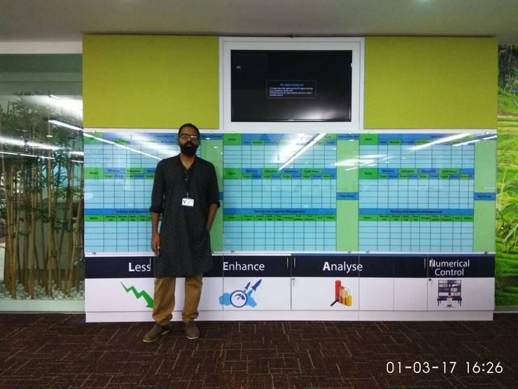 Scope International @ Brigade tech park Bangalore: modern  by adorn,Modern
