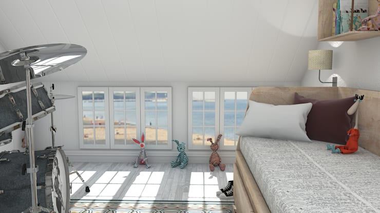 Teen bedroom by Blophome,