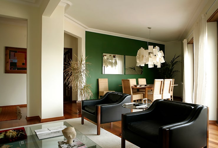 eclectic Living room by homify