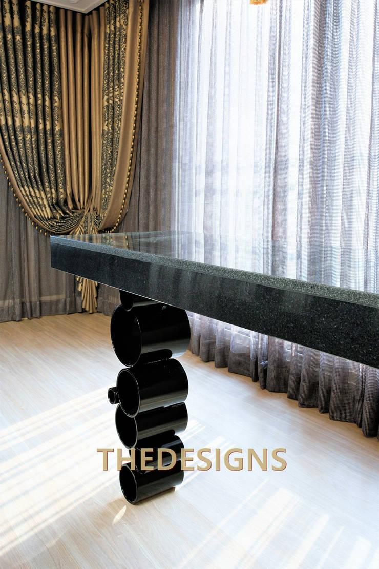 광교 오드카운티: thedesigns의  주방