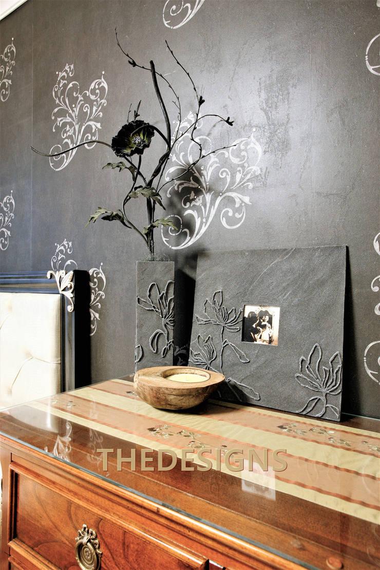 동탄 롯데캐슬: thedesigns의  벽