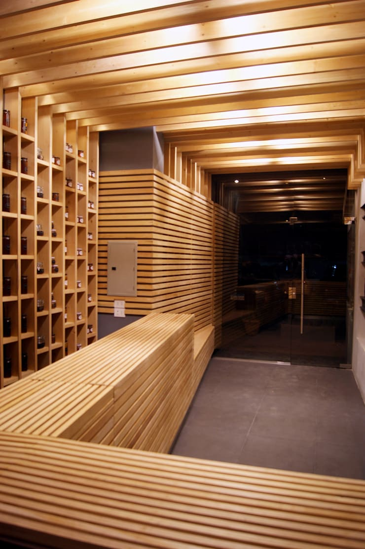 Commercial Spaces by CUBEArchitects, Modern