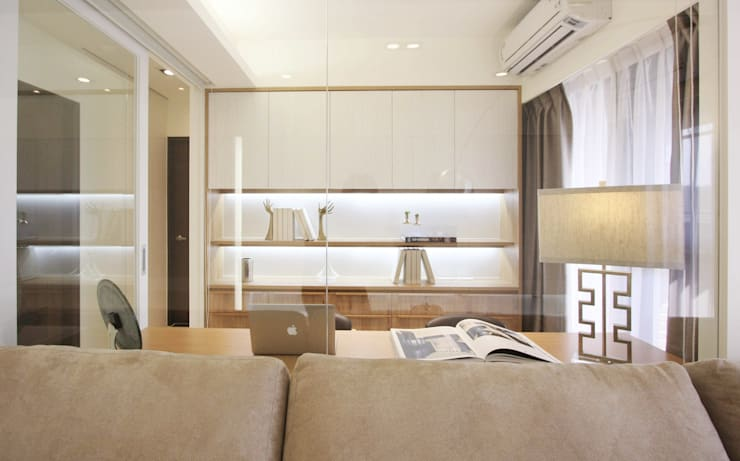 Open House / Kaohsiung:  書房/辦公室 by 陳府設計 Chenfu Design