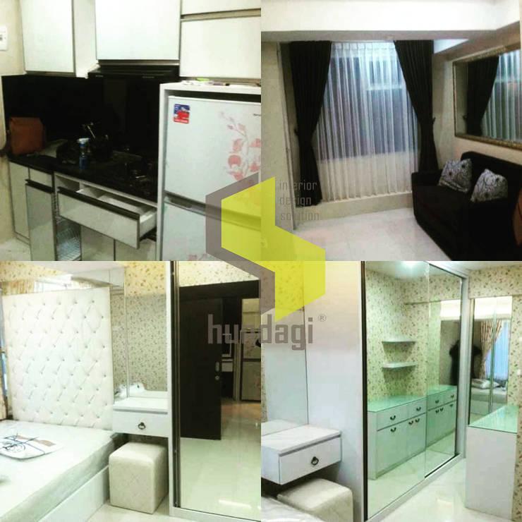Modern minimalis: modern Bedroom by Hundagi interior design