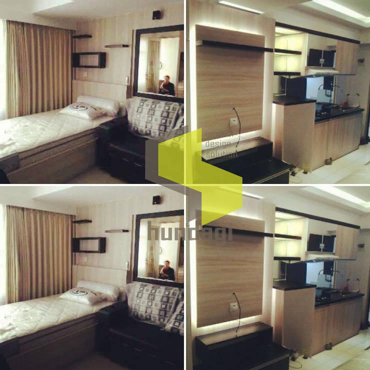 Modern minmalis: modern Bedroom by Hundagi interior design