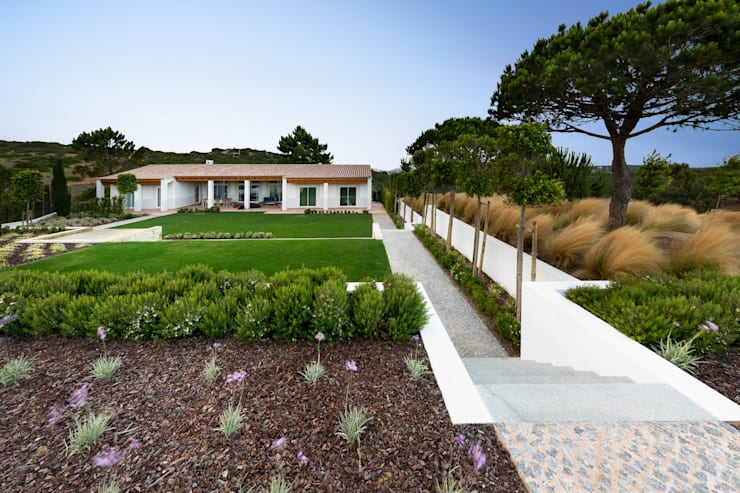 Projekty,  Ogród zaprojektowane przez Jardíssimo