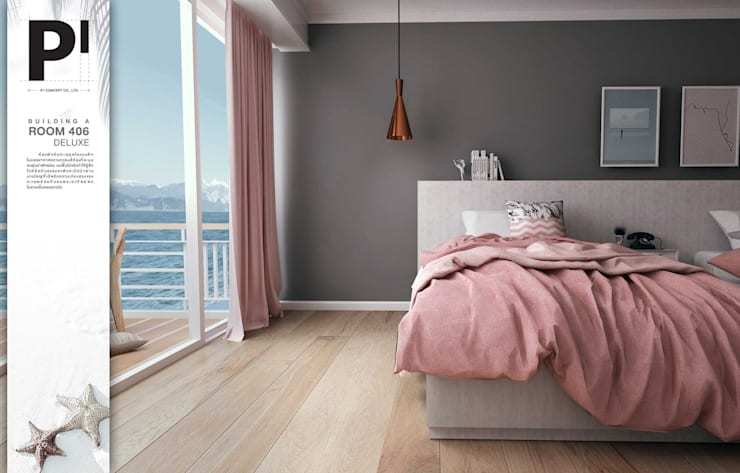 Room 406 Deluxe:   by P1 CONCEPT