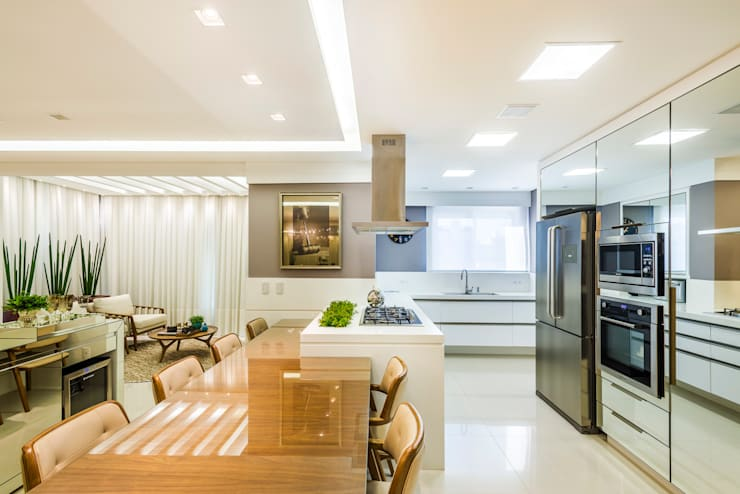 مطبخ تنفيذ VOBOL ARQUITETURA E INTERIORES