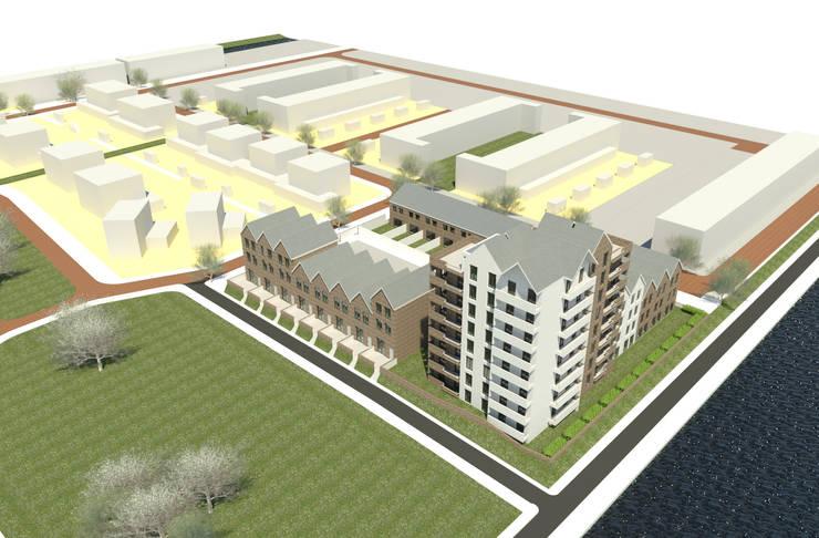 Woningbouw complex:  Meergezinswoning door MOTUS architects