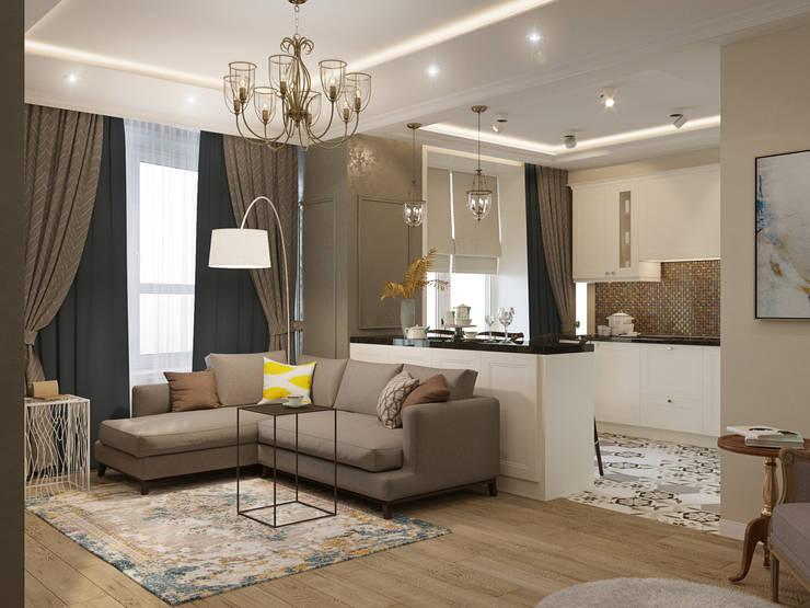Salones de estilo clásico de Reroom Clásico